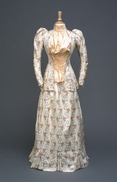 Day Dress c.1895 Hull Museums