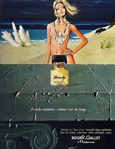 Roger & Gallet Perfumes 1971 Shendy Vintage advert Perfumes | Hprints.com