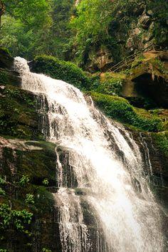 Bifengxia water cascade
