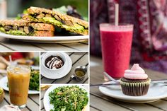 Green Bliss - vegetarian, eco-friendly coffee shop in Fullerton