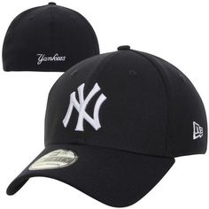 Men's New York Yankees New Era Navy MLB Team Classic Game 39THIRTY... (645 MXN) ❤ liked on Polyvore featuring men's fashion, men's accessories, men's hats and mens hats