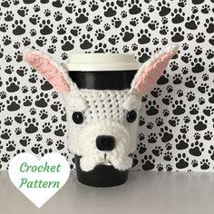 Crochet Dog Pattern - French Bulldog Crochet Pattern - Amigurumi French Bulldog - Amigurumi Dog - Dog Crochet Pattern - Hooked by Angel