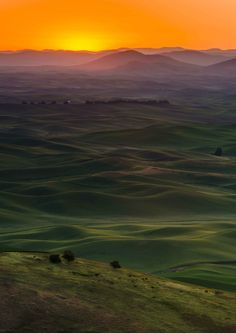 A visitor's guide to the beautiful picture perfect Palouse in Washington.