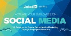 12 Reasons Why Your Business Should Be Utilizing Employee Advocacy. Great post by Andrew Hutchinson, contributor to SocialMediaToday.com. http://www.socialmediatoday.com/social-business/12-reasons-why-your-business-should-be-utilizing-employee-advocacy-infographic?utm_source=feedburner&utm_medium=feed&utm_campaign=Social+Media+Today+%28all+posts%29