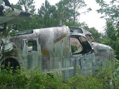 St Augustine Airplane Graveyard. This looks like such a cool and vivid place to walk around. Although, I've read it's not longer there. But would have been neat to visit!
