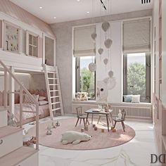 Kids Bedroom Designs, Room Design Bedroom, Kids Room Design, Bedroom Kids, Bed For Girls Room, Girl Room, Neon Bedroom, Bedroom Modern, Creative Kids Rooms