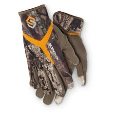 ScentLok Camo Full Season Bow Release Gloves - Women's bowhunting gloves camo color