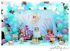 Little Wish Parties | Little Mermaid Party | https://littlewishparties.com