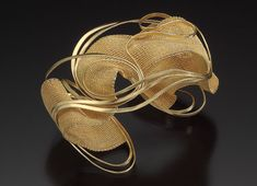 Mary Lee Hu gold bracelet. Collection of Museum of Arts & Design, New York. Photo by Douglas Yaple.