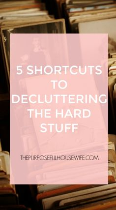 Decluttering can totally suck. I'm not gonna lie. When you've put yourself in a place of total chaos, reached your breaking point, and come to the realization that you now need to undo it all, doing the hard work feels truly impossible some days. I've been there too, friend. Lucky for you I'm on the other side and I can help give you shortcuts. My home is completely minimal, my cleaning routine consists of about thirty to sixty minutes of daily work (at most), and I spend my time pourin...
