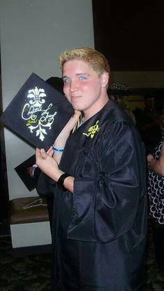 Chris at Graduation