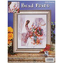 Tobin Dreaming Bead Point Kit, 8 by Printed Needlepoint Belts, Needlepoint Stockings, Needlepoint Pillows, Needlepoint Stitches, Needlepoint Canvases, Needlework, Book Crafts, Arts And Crafts, Needlepoint Christmas Stocking Kits