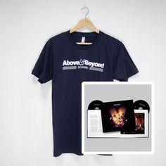 Above & Beyond Acoustic Merchandise | Acoustic Special Edition Photographic Book (CD/DVD) & Navy Tour T-Shirt  #CD #DVD #photography #t-shirt  #tour #bundle #aboveandbeyond #ABAcoustic #AcousticII #merchandise #musiclabel #recordlabel #Anjunabeats #Anjuna