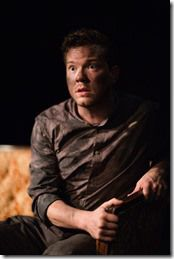 """Gage Wallace stars as Oswald in Mary-Arrchie Theatre's """"Ibsen's Ghosts,"""" adapted and directed by Greg Allen. (photo credit: Joe Mazza)"""