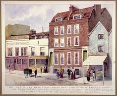 King's Head' Public House, Pentonville. Islington, London Fine Art Print by Anonymous