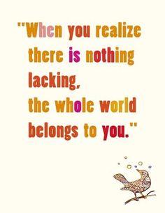 Zen quote Print by LouiseArtStudio