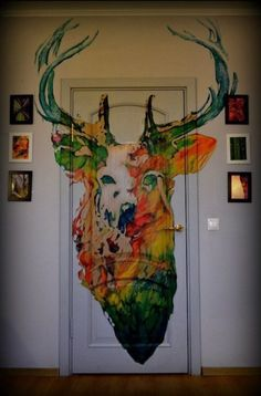 Stag-- okay, while I don't love the stag, I do like the idea, and I think it looks pretty cool.