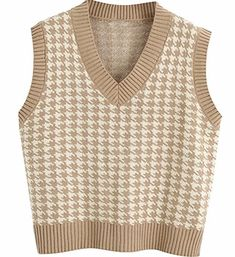 Beige Pullover, Beige Sweater, Cheap Sweaters, Sweaters For Women, Clothing Tags, Knit Vest, Beige Color, Winter White, Pattern Fashion