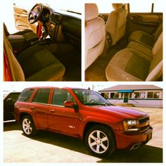 Check out all the room for activities! Spring is the perfect time for a road trip in this 2008 #Trailblazer! See more awesome details online here: http://www.schmittchevrolet.com/VehicleDetails/used-2008-Chevrolet-TrailBlazer-2WD_4dr_SS_w%2F1SS-Wood_River-IL/2208499883
