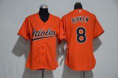 d47d33c2f1a cal ripken jr jerseys  mitchell and ness 1982 orioles 8 cal ripken orange  throwback stitched mlb jersey mlb jerseys pinterest