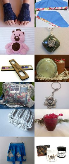 Gifts For Her THATeam Blast Treasury by Tura Jean Cummings on Etsy--Pinned with TreasuryPin.com