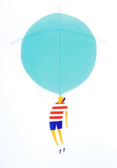 kites & more series / #illustration by daniel frost
