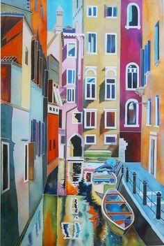 Natasha Foucault silk painting... Yeee!