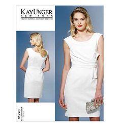 Vogue Pattern V1270 Kay Unger New York American Designer