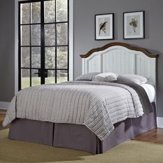 Shop for The French Countryside King/ California King Headboard by Home Styles. Get free delivery at Overstock.com - Your Online Furniture Shop! Get 5�0in rewards with Club O!