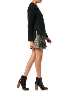 Green Waffle Knit Cashmere Sweater | Maiyet | Avenue32