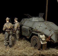 On patrol   Dioramas and Vignettes   Gallery on Diorama.ru
