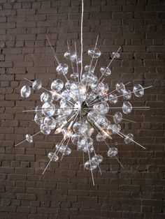 Diy bubble chandelier chandeliers lights and interiors bubbles chandelier aloadofball Choice Image