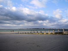 West Wittering beach, Sussex - the first place that I ever saw the sea as a child.