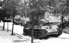 King Tiger of Schwere SS-Panzer-Abteilung 503. Pariser Strasse Berlin May 1945