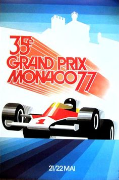 monaco 77, we crawled through a fence to sit on the hill to watch !! Also saw princess Grace in a limo after race!