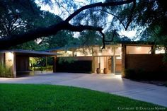 Mid Century Modern Homes | Joseph Gordon Designed Mid-Century Modern Home