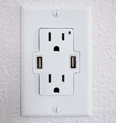 $10. It's About Time: Power Plug Wall Sockets With USB Ports Built In | Popular Science