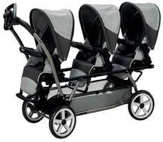 valco triple stroller   Best Triple Stroller   Pinterest   Strollers