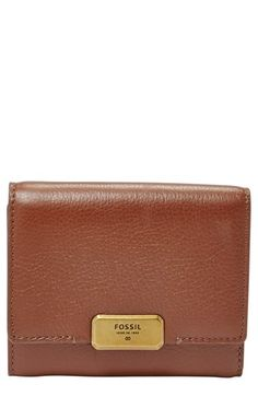 Fossil 'Emerson' Leather Trifold Wallet