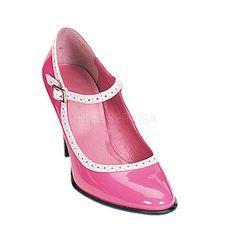 #xmas #Christmas #East Coast Fashions - #Demonia Betty-01 Pink  Retro Mary Jane Shoes - AdoreWe.com