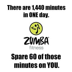 Make some time for Zumba!
