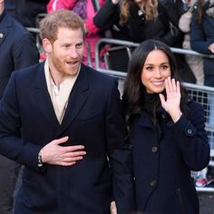 A collection of the cutest photos from Meghan Markle and Prince Harry's relationship, from their first public appearances to the royal wedding Meghan Markle Prince Harry, Prince Harry And Megan, Prince William And Kate, Harry And Meghan, Wedding Terms, Royal Weddings, Celebrity Couples, Duke And Duchess, British Royals