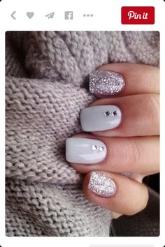 ❁ Michelle Pacheco ❁ Luxury Beauty - winter nails - http://amzn.to/2lfafj4