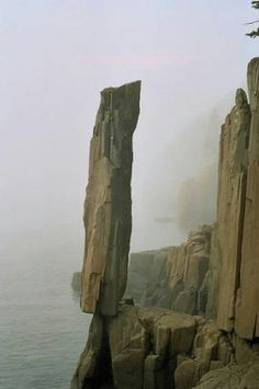 Pic Centre: Balancing Rock, Nova Scotia