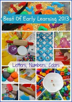 Fun and easy early learning play activities to get you ready for back to school or any time of the year! Hands-on early learning play ideas for preschool! Early Learning Activities, Learning Time, Alphabet Activities, Toddler Learning, Craft Activities For Kids, Literacy Activities, Toddler Activities, Preschool Activities, Teaching The Alphabet