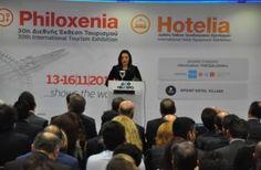 Philoxenia 2014: Επενδύσεις μισό δισ. κάθε χρόνο σε αναπτυξιακά έργα ανακοίνωσε η Όλγα Κεφαλογιάννη