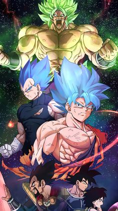 Dragon Ball Super Broly By: Dragon Ball Gt, Dragon Ball Image, Son Goku, Goku 2, Dbz Vegeta, Photo Dragon, Dragonball Evolution, Broly Movie, Super Anime
