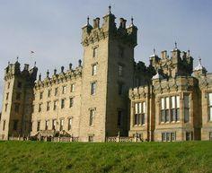 Castelo Floors, Escócia.