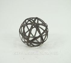 Antique Garden Metal Decoration Ball - Buy Round Metal Balls,Metal Wire Garden Ball,High Quality Metal Ball Product on Alibaba.com