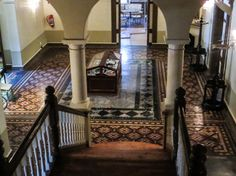 The Old Presidency, or Residency as it is also known, is one of the historic buildings in Bloemfontein. It was designed by Lennox Canning & Goad, a Johannesburg firm of architects who won the competition to design the building, and built in on […] Entrance Hall, South Africa, Cities, Presidents, Old Things, Stairs, African, London, History